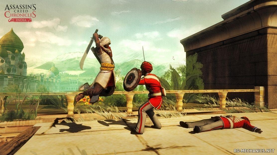 Скриншот к игре Assassin's Creed Chronicles: Индия / Assassin's Creed Chronicles: India (2016) PC | RePack от R.G. Механики