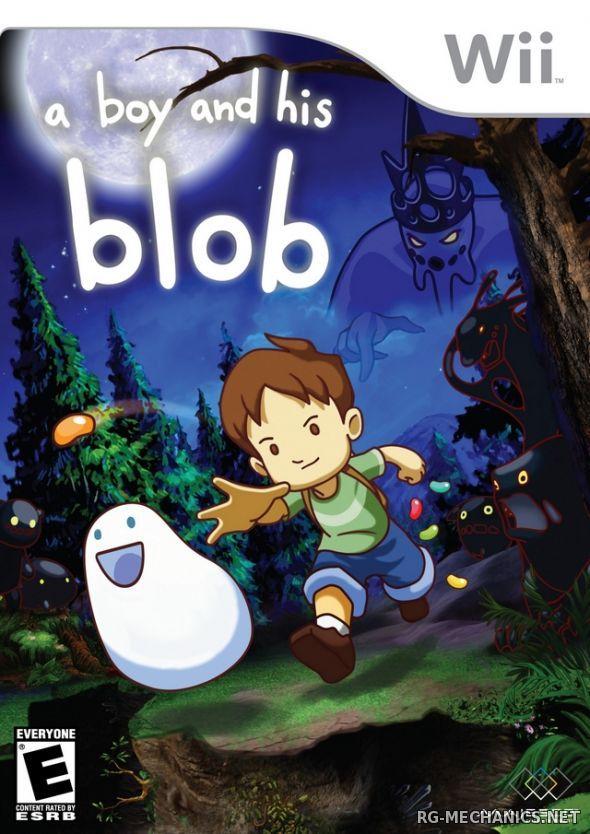 Скриншот к игре A Boy and His Blob (2016) PC | RePack от R.G. Механики