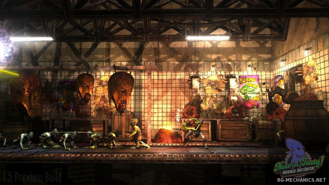 Скриншот к игре Oddworld: New 'n' Tasty [Update 6] (2015) PC | RePack от R.G. Механики
