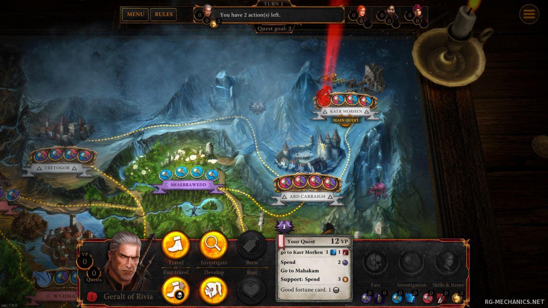 Скриншот к игре The Witcher Adventure Game (2014) PC | RePack от R.G. Механики