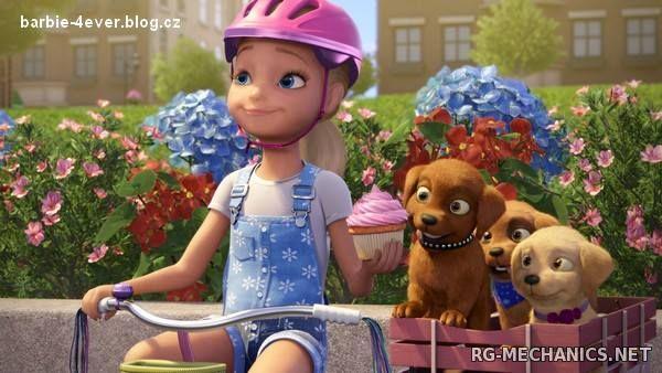 Скриншот к игре Барби и щенки в поисках сокровищ (2015) DVDRip | Чистый звук