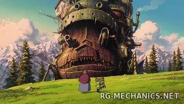Скриншот к игре Ходячий замок  / Hauru no ugoku shiro (2004) HDTVRip от HQ-ViDEO