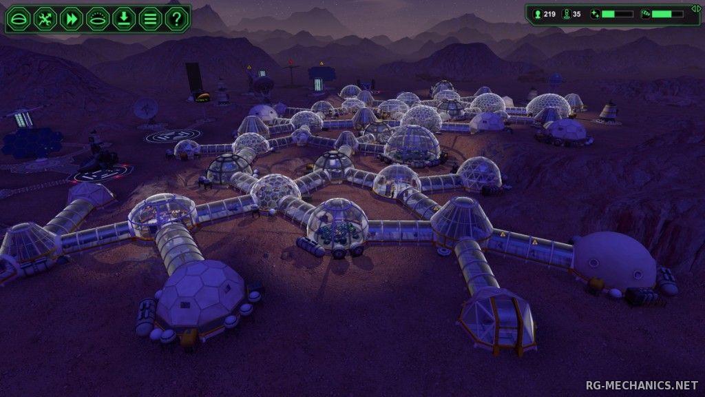 Скриншот к игре Planetbase v.1.3.6 [GOG] (2015) скачать торрент Лицензия