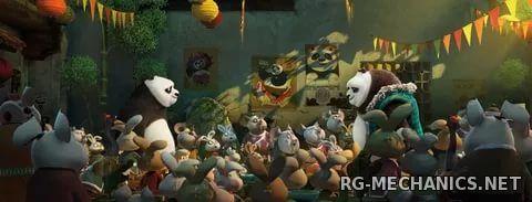 Скриншот к игре Кунг-фу Панда 3 / Kung Fu Panda 3 (2016) WEBRip | D | Line