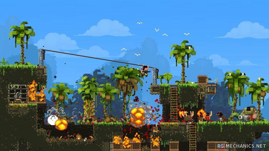 Скриншот к игре Broforce (2015) PC   Лицензия