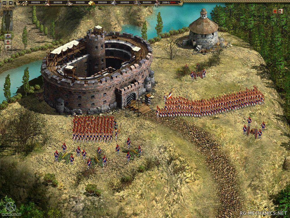 Скриншот к игре Казаки 2: Битва за Европу [v 1.3] (2006) PC