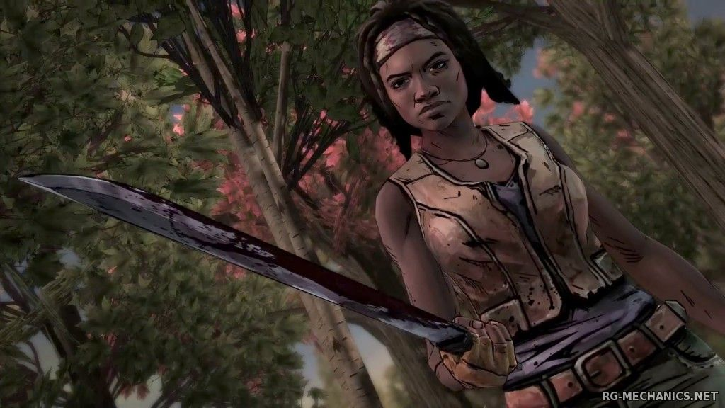 Скриншот 1 к игре The Walking Dead: Michonne - Episode 1 (2016) PC | Лицензия