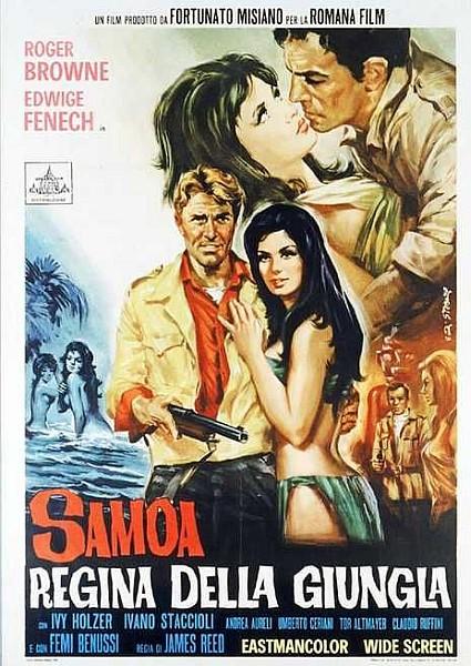 Самоа – королева джунглей / Samoa, regina della giungla (1968) DVDRip | L1
