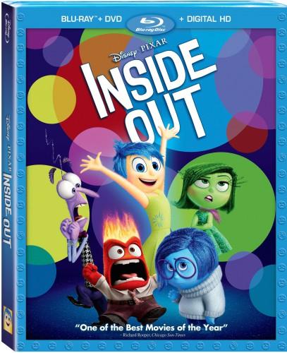 Головоломка / Inside Out (2015)