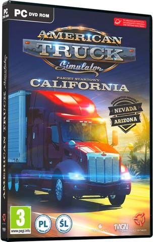 American Truck Simulator [v 1.1.1.3s + 3 DLC] (2016) PC | RePack от Let'sРlay
