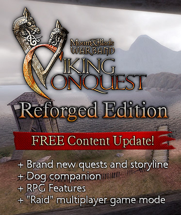 Mount and Blade: Warband - Viking Conquest - Reforged Edition (2015) PC | RePack от FitGirl