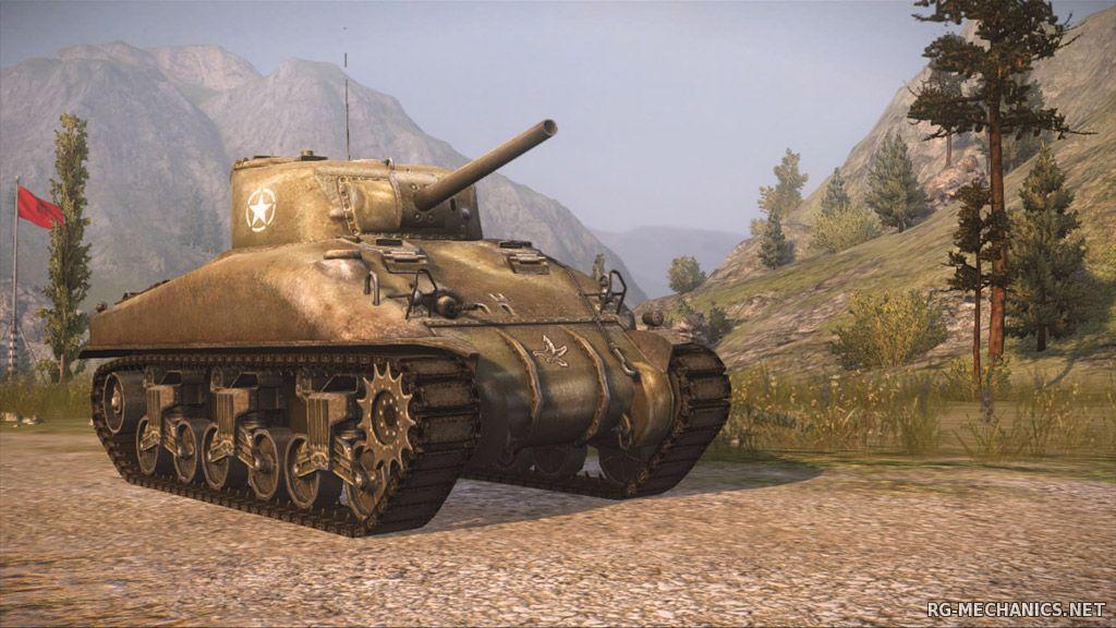 Скриншот к игре Мир Танков / World of Tanks [v.0.9.14] (2015) PC | Моды