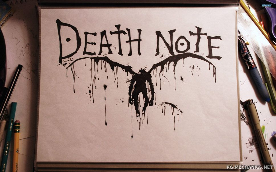 Скриншот к игре Тетрадь смерти / Death Note [01-37 из 37] (2006) HDTV 720p от SDIncorporation   Mega-Anime