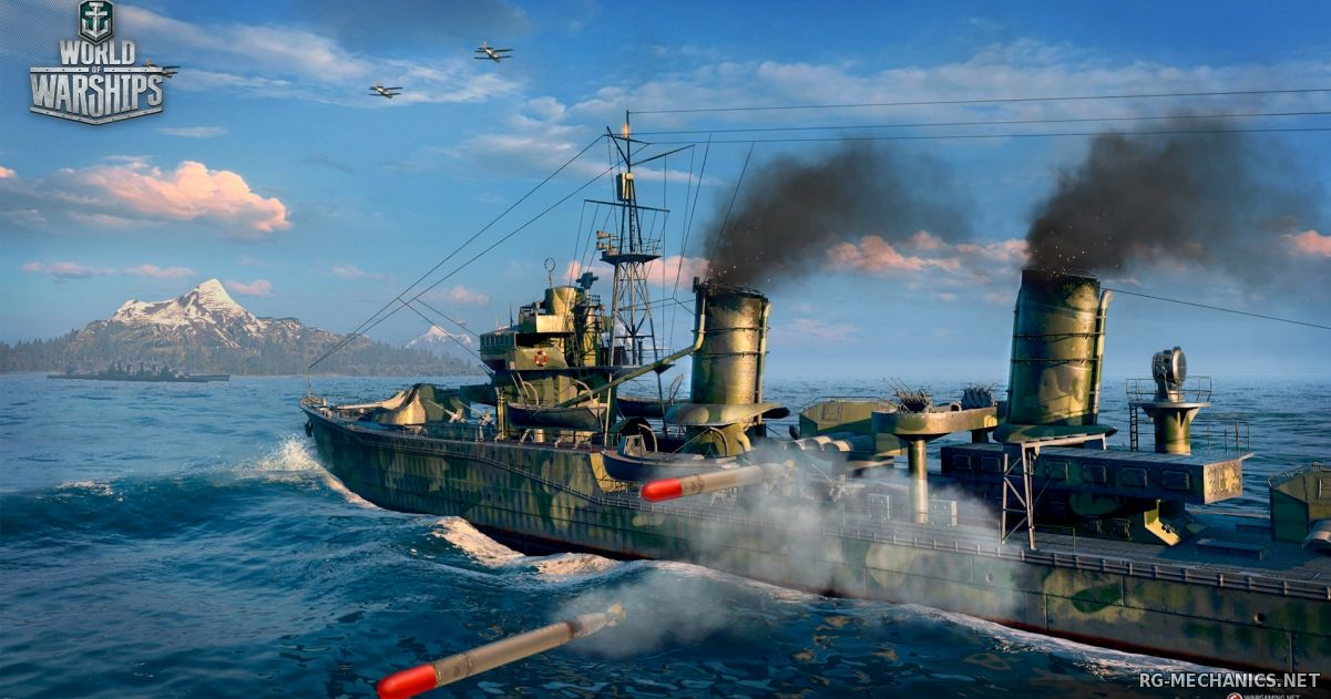 Скриншот к игре World of Warships [0.5.3.2] (2015) PC | Online-only