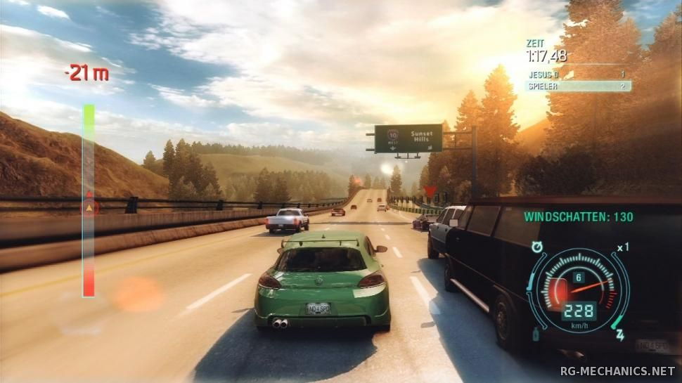 Скриншот к игре Need for Speed: Undercover (2008) PC | RePack от R.G. ReCoding