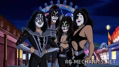 Скриншот к игре Скуби-Ду и KISS: Тайна рок-н-ролла (2015) BDRip   P