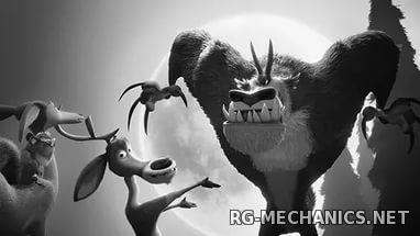 Скриншот к игре Сезон охоты 4: Страшно глупо / Open Season: Scared Silly (2015) BDRip от Twi7ter | Line