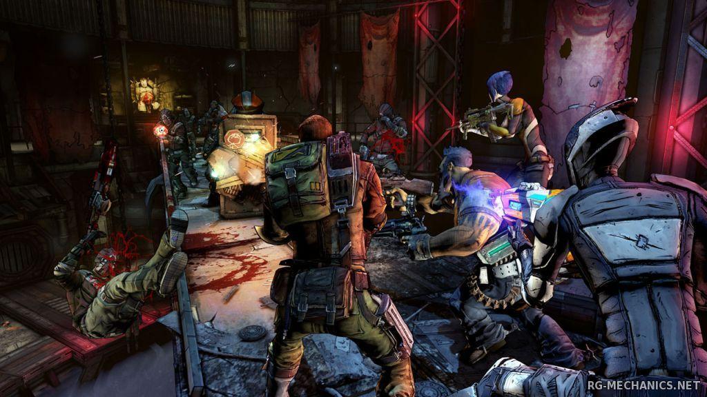 Скриншот к игре Borderlands 2 [v 1.8.4 + 48 DLC] (2012) PC   RePack by Mizantrop1337