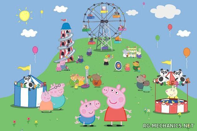 Скриншот к игре Свинка Пеппа / Peppa Pig [01-160] (2004-2012) SATRip | Карусель