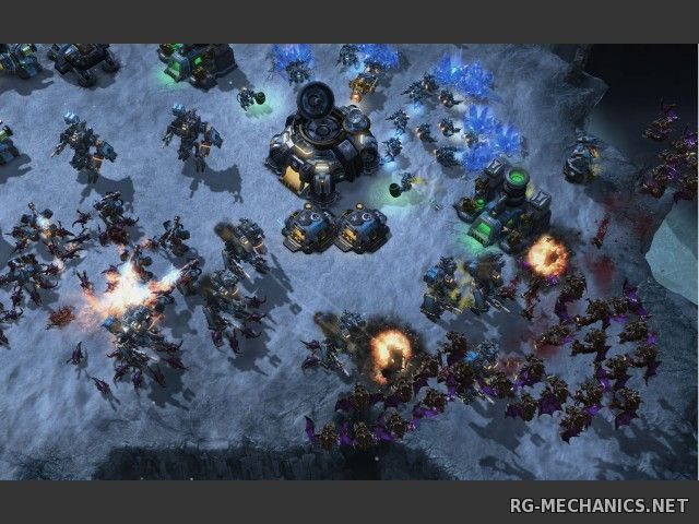 Скриншот к игре StarCraft 2: Wings of Liberty + Heart of the Swarm (2013) PC   RePack от z10yded