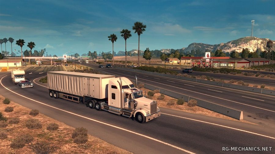 Скриншот к игре American Truck Simulator [v 1.1.1.3s + 3 DLC] (2016) PC | RePack от Let'sРlay
