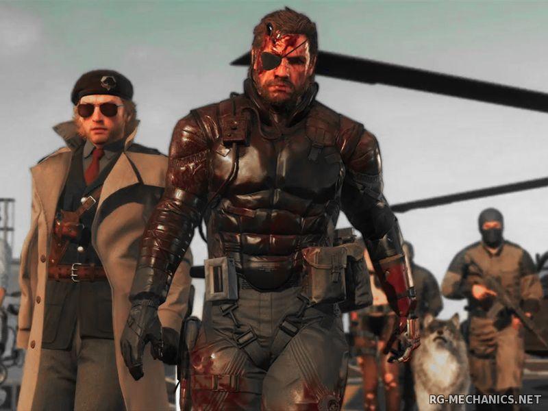 Скриншот к игре Metal Gear Solid V: The Phantom Pain [v 1.0.0.5] (2015) PC | RePack от R.G. Games