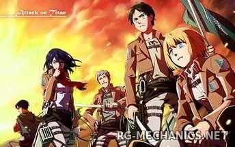 Скриншот к игре Атака Титанов / Shingeki no Kyojin [01-25 из 25] + 1 Special (2013) HDTVRip | Gezell Studio [HWP]