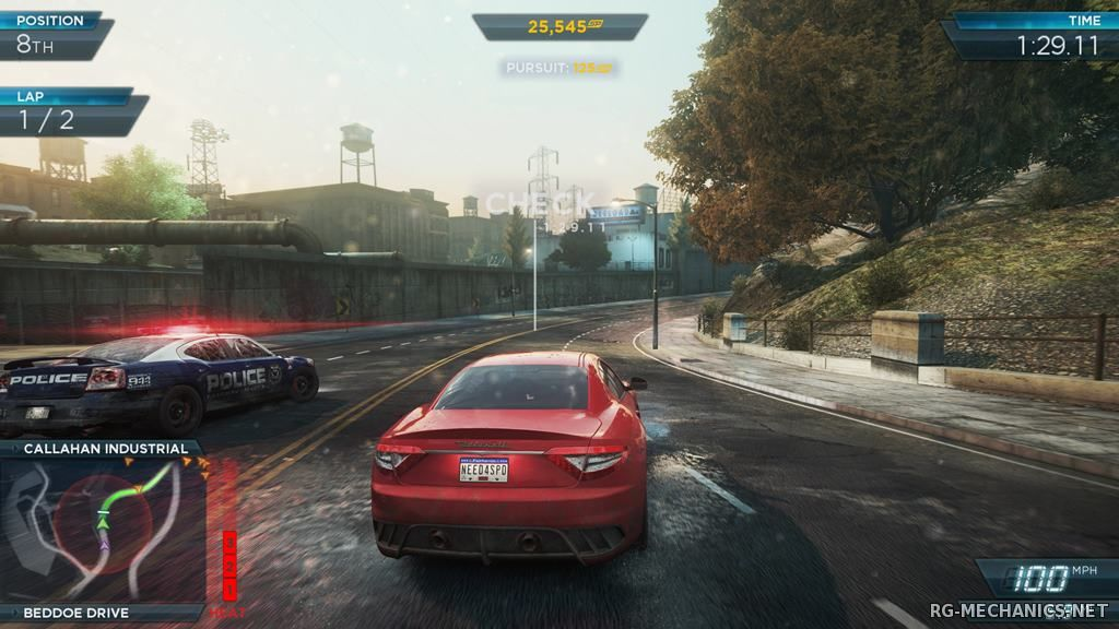 Скриншот 2 к игре Need for Speed: Most Wanted 2012 (2012) PC | RePack от R.G. Catalyst