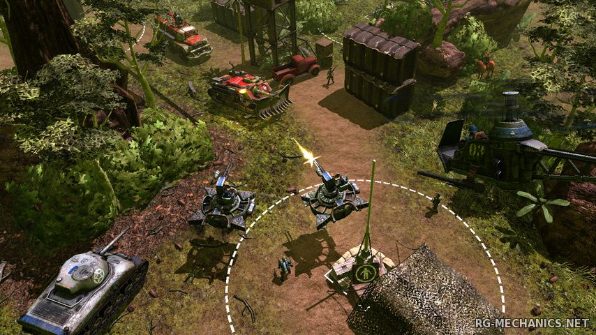Скриншот к игре War Thunder: Весенний марш [1.57.1.54] (2012) PC   Online-only