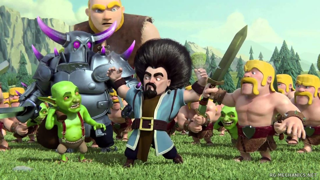 Скриншот к игре Clash of Clans (2015) Android