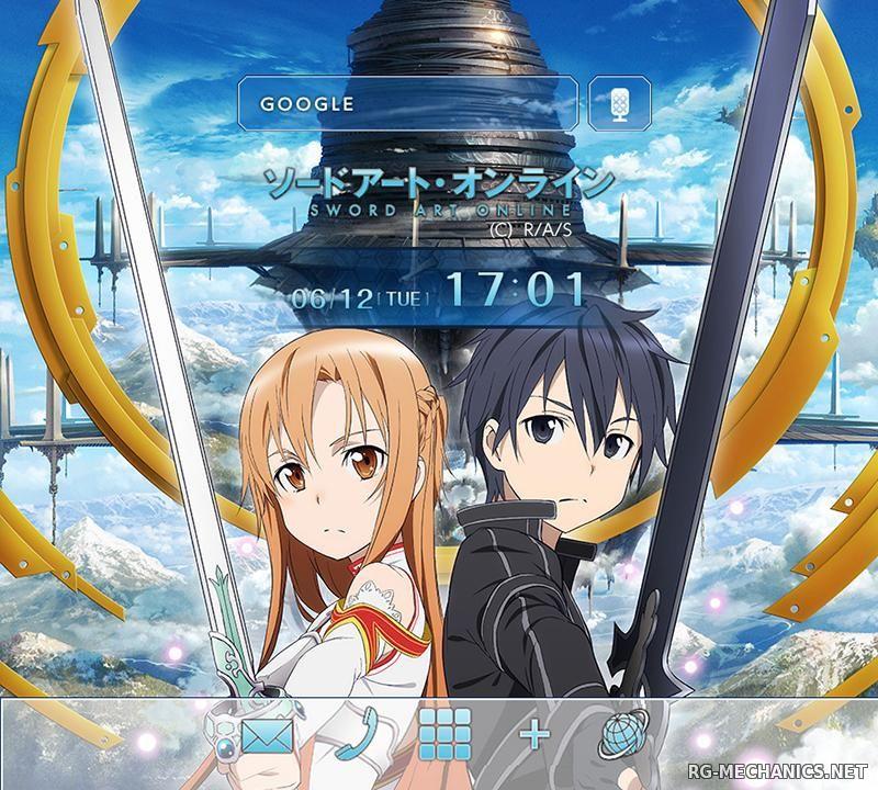 Скриншот к игре Мастера меча онлайн / Sword Art Online TV [01-25 из 25] (2012) HDTVRip 720p от TEAM RENEGADE   L