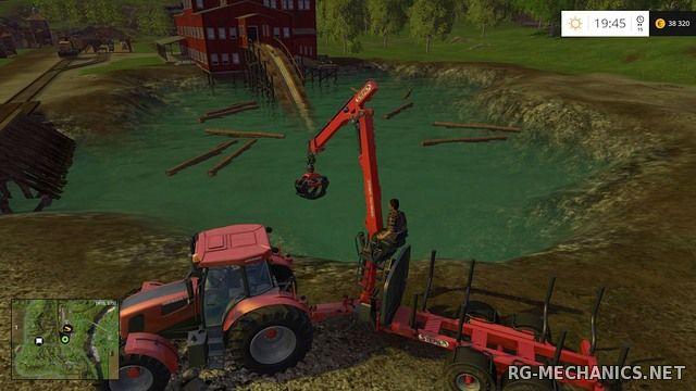 Скриншот к игре Farming Simulator 15: Gold Edition [v 1.4.2 + DLC's] (2014) PC | RePack от R.G. Механики