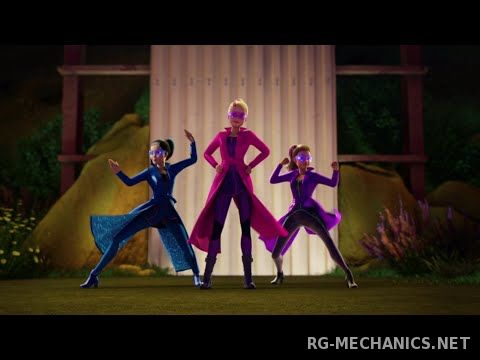 Скриншот к игре Барби и команда шпионов / Barbie: Spy Squad (2016) DVDRip | Line