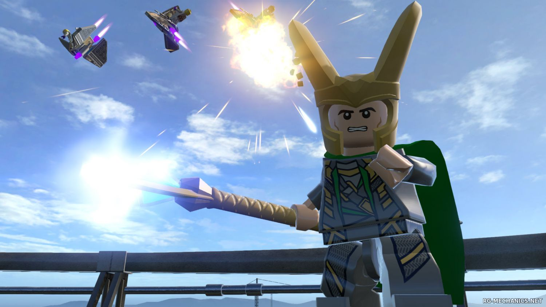 Скриншот к игре LEGO Marvel's Avengers Deluxe Edition [v1.0.0.26715] (2016) РС | RePack от Let'sPlay