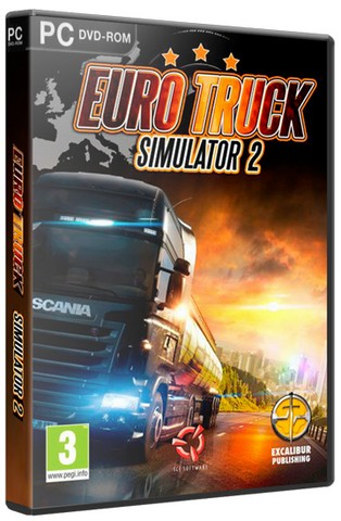 Euro Truck Simulator 2 [v 1.23.1.1s + 29 DLC] (2013) PC | Steam-Rip от R.G. Games