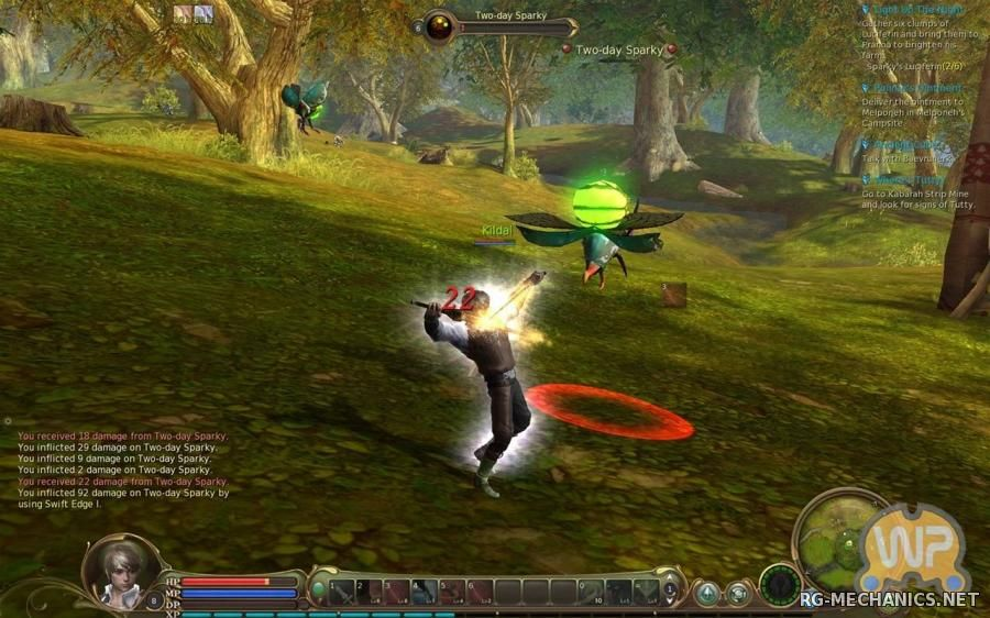 Скриншот 1 к игре Aion [5.0.1209.17] (2009) PC | Online-only