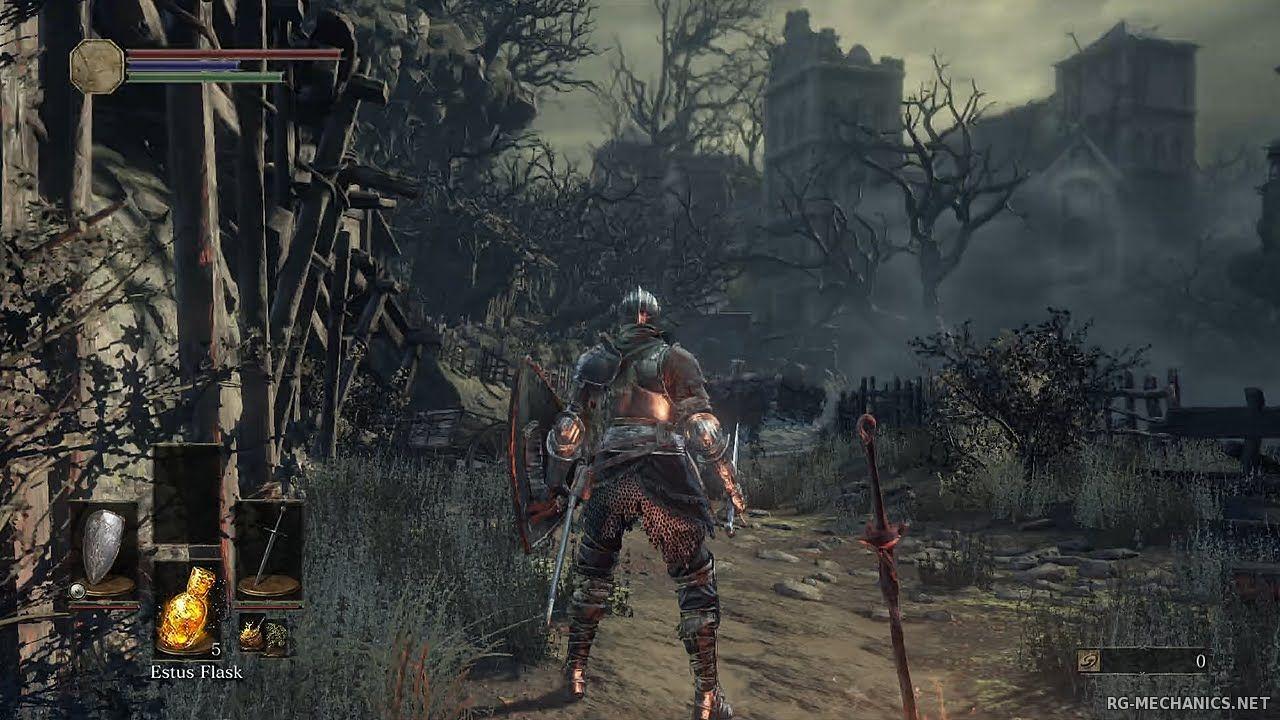 Скриншот к игре Dark Souls 3: Deluxe Edition [v 1.15 + 2 DLC] (2016) скачать торрент RePack от xatab