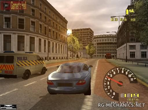 Скриншот к игре TD Overdrive: The Brotherhood of Speed (2002) PC