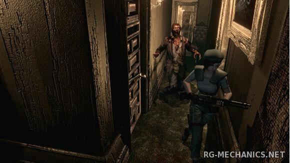 Скриншот к игре Resident Evil / biohazard HD REMASTER (2015) PC | RePack от R.G. Механики