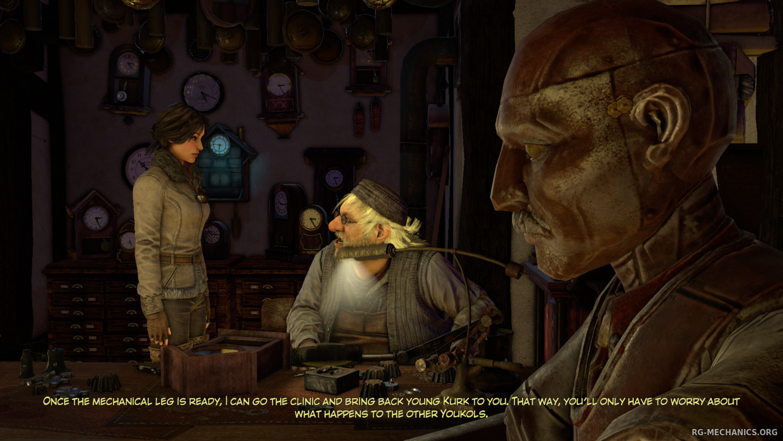 Скриншот к игре Сибирь 3 / Syberia 3: Deluxe Edition (2017) PC   RePack от qoob