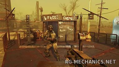 Скриншот к игре Fallout 4: Wasteland Workshop (2016) PC | DLC