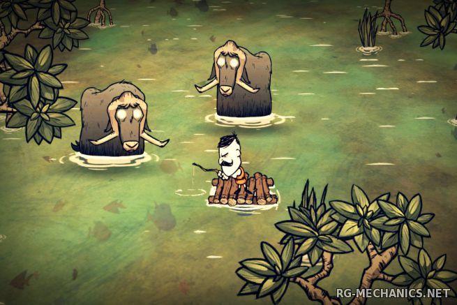 Скриншот к игре Don't Starve Alone Pack [v 1.171894 + 2 DLC] (2013) PC | RePack от FitGirl