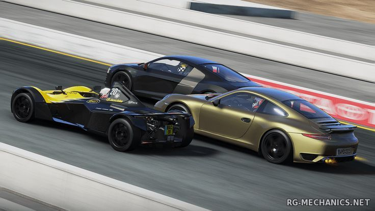 Скриншот к игре Project CARS: Game of the Year Edition (2015) PC | RePack от R.G. Catalyst