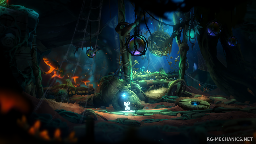 Скриншот к игре Ori and the Blind Forest: Definitive Edition (2016) PC | RePack