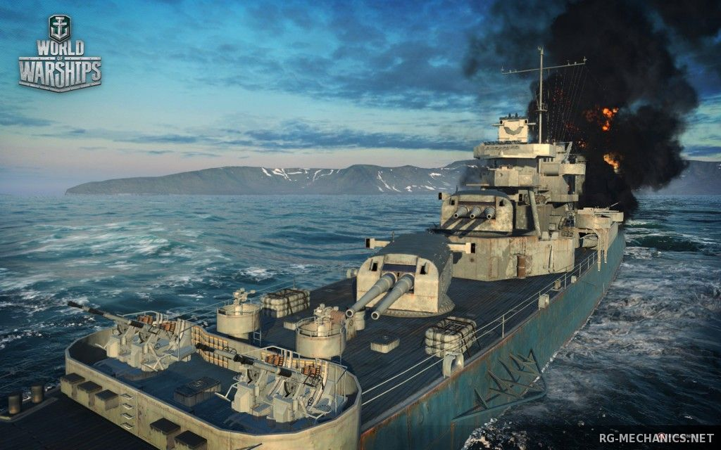 Скриншот к игре World of Warships [0.5.6.0] (2015) PC | Online-only