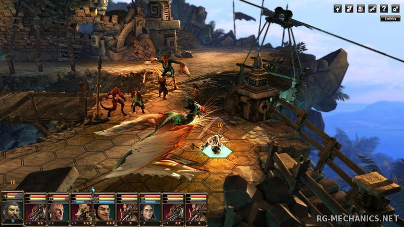 Скриншот к игре Blackguards 2 [v.2.5.9139] (2015) PC | Steam-Rip от Let'sРlay