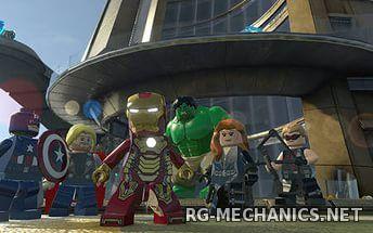 Скриншот к игре LEGO: Marvel Мстители / LEGO: Marvel's Avengers (2016) PC   RePack от R.G. Механики