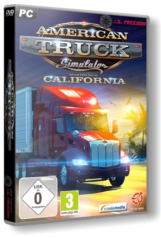 American Truck Simulator [1.3.1.1s] (2016) PC | RePack от R.G. Freedom