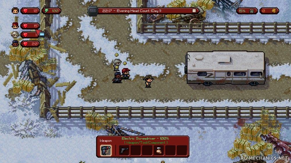 Скриншот к игре The Escapists: The Walking Dead (2015) PC | RePack