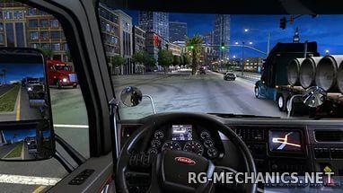 Скриншот к игре American Truck Simulator [1.3.1.1s] (2016) PC | RePack от R.G. Freedom